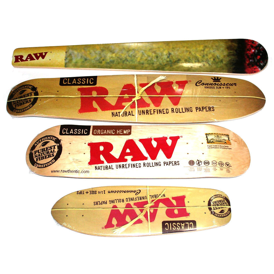 RAW Skateboard Cone Custom Joint