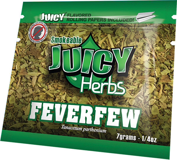 Juicy Jay's Organic Blends Feverfew (Tanacetum Parthenium) 7grams -  1/4oz
