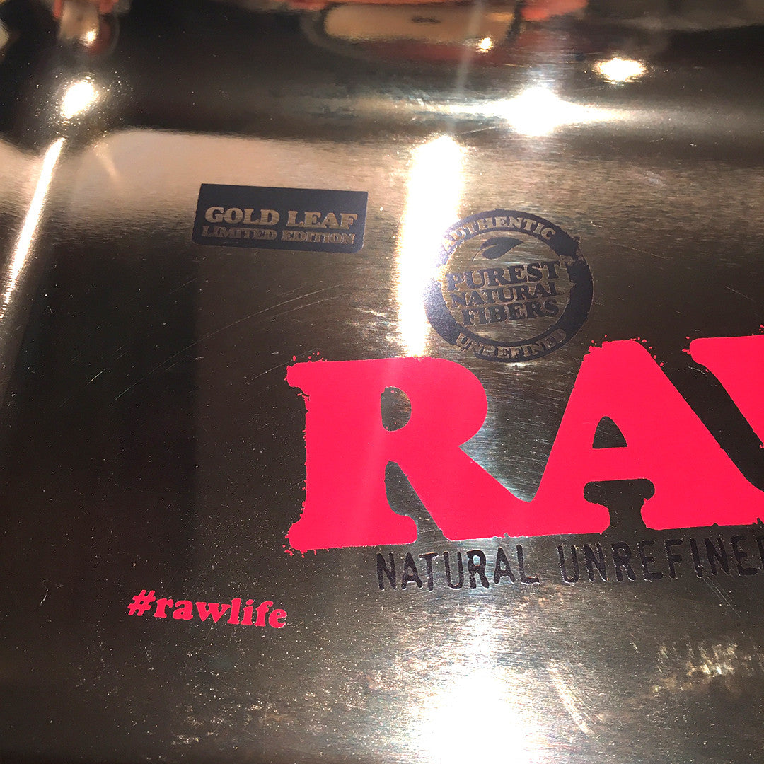 RAW Rolling Tray 24K GOLD