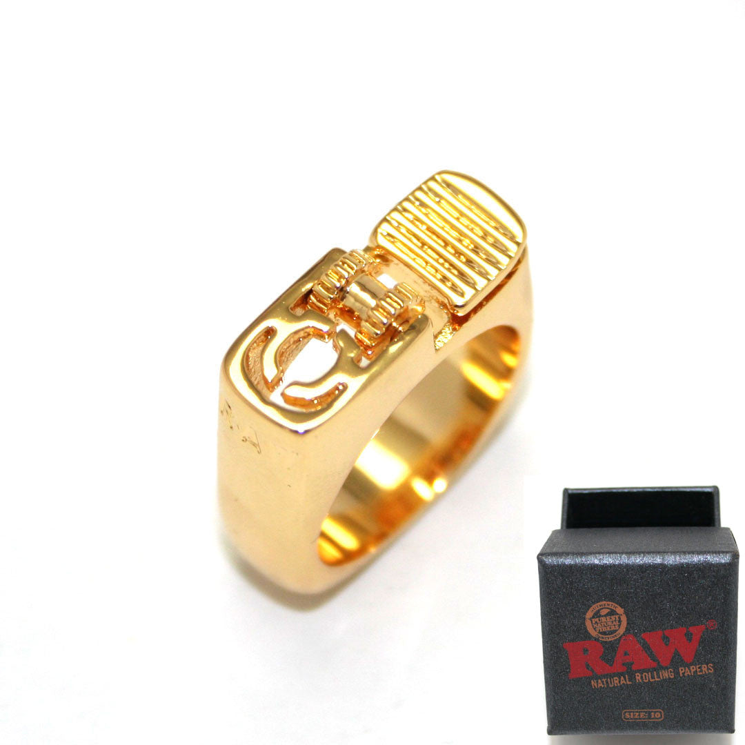 RAW Lighter Gold Ring