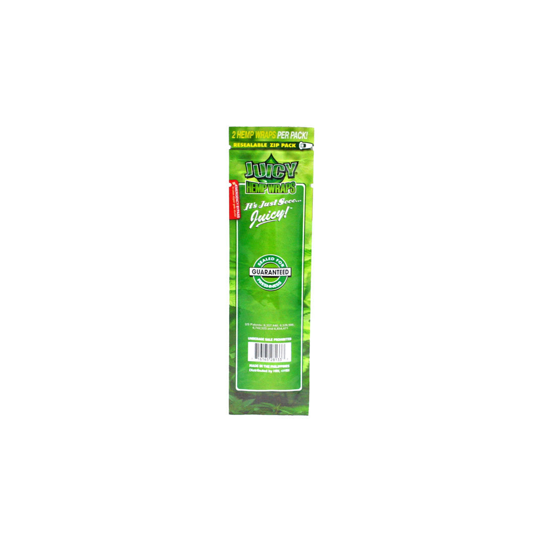 Juicy Hemp Wraps - Natural 2/pack