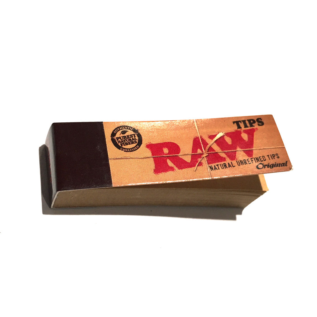 RAW Unbleached Original Roll-Up Tips