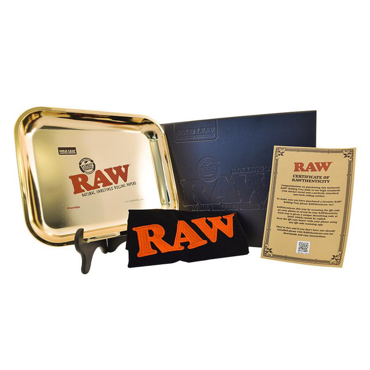 RAW Rolling Tray Extra Large 24K GOLD