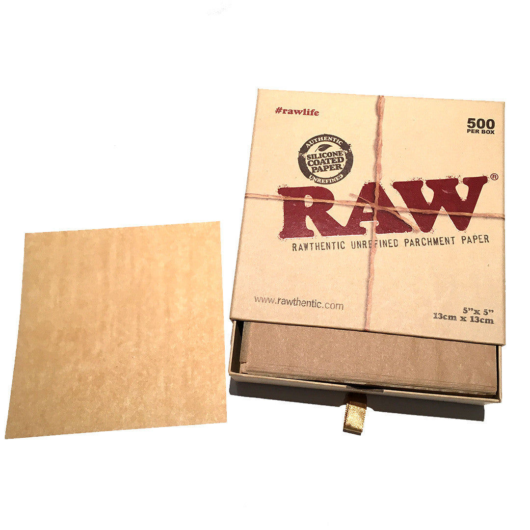 RAW Parchment Paper 5 X 5  - 500 sheets/PACK