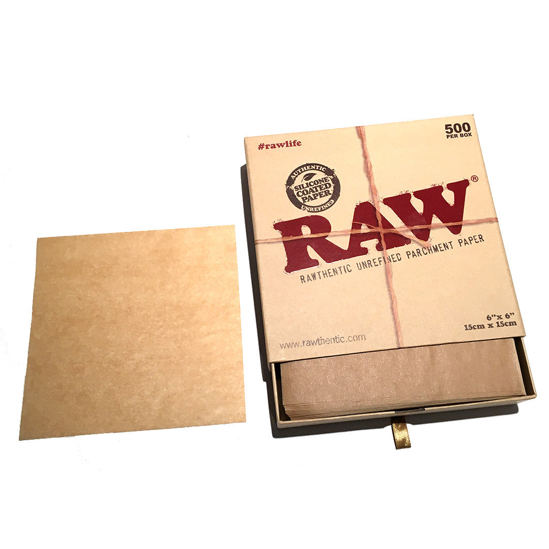 RAW Parchment Paper 6 X 6  - 500 sheets/PACK