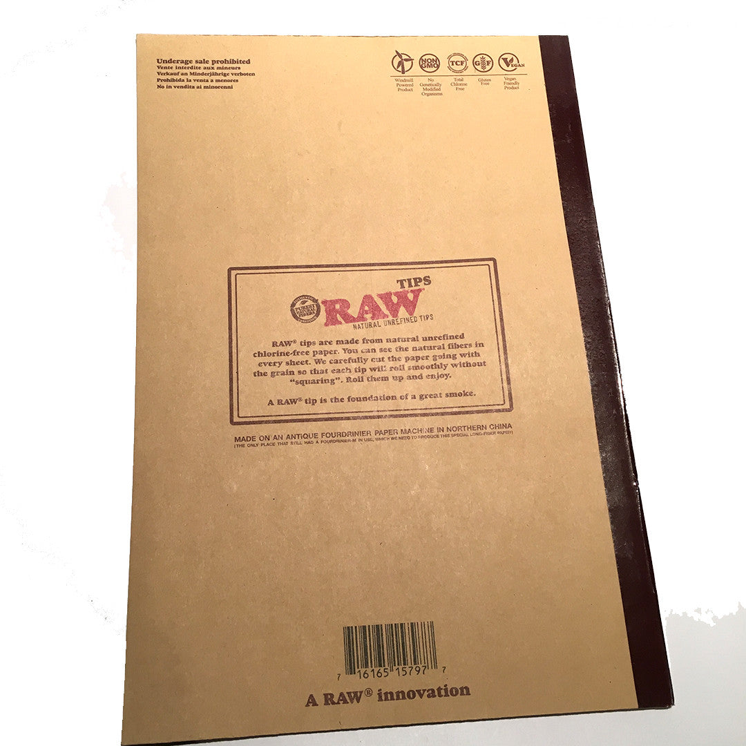 RAW Tips RawlBook  (48 tips per page, 10 pages per book)