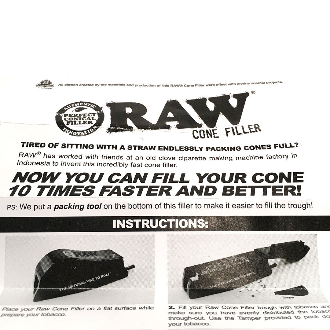 RAW  Cone Filler