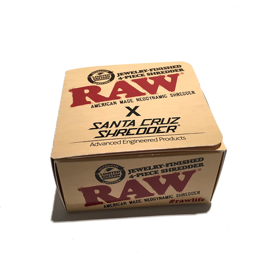 RAW Grinder - Santa Cruz Shredder (4 Piece Set)