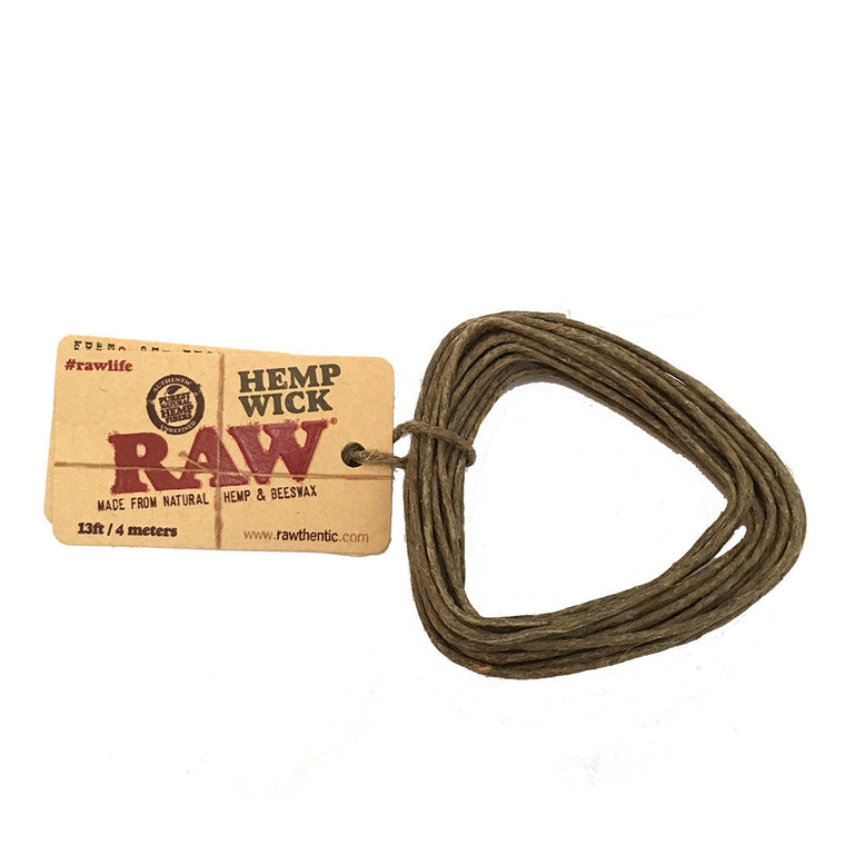 RAW Hemp Wicks - 4 meters