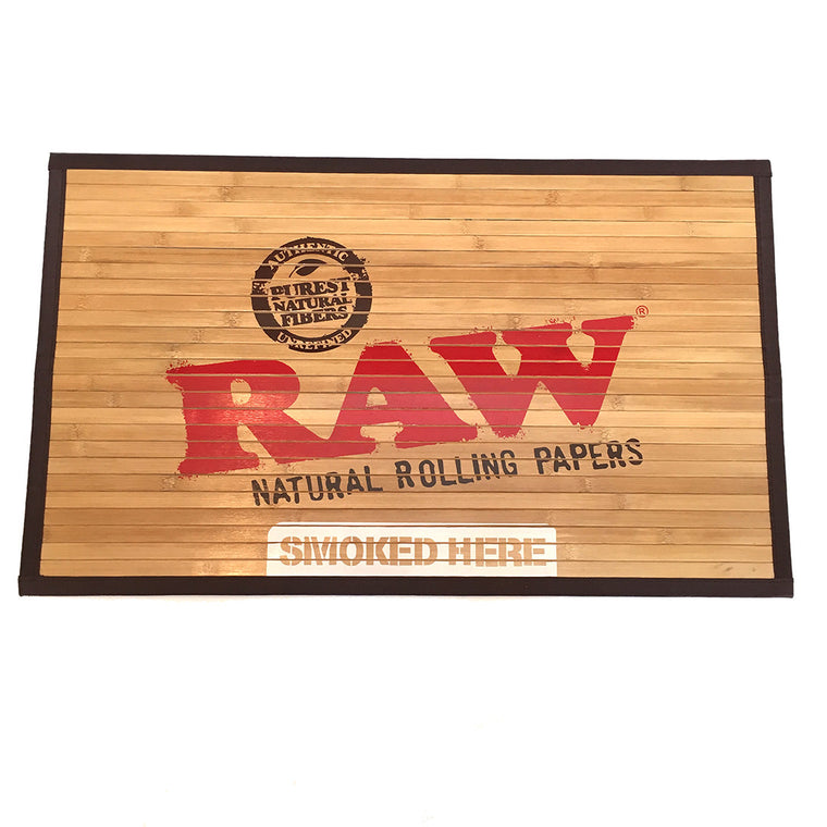 "RAW Door Mat - Bamboo Small 30"" X 18"""