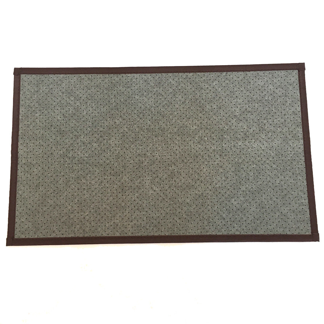 raw door mat  bamboo large ' x '  prisma labs -  raw door mat  bamboo large '