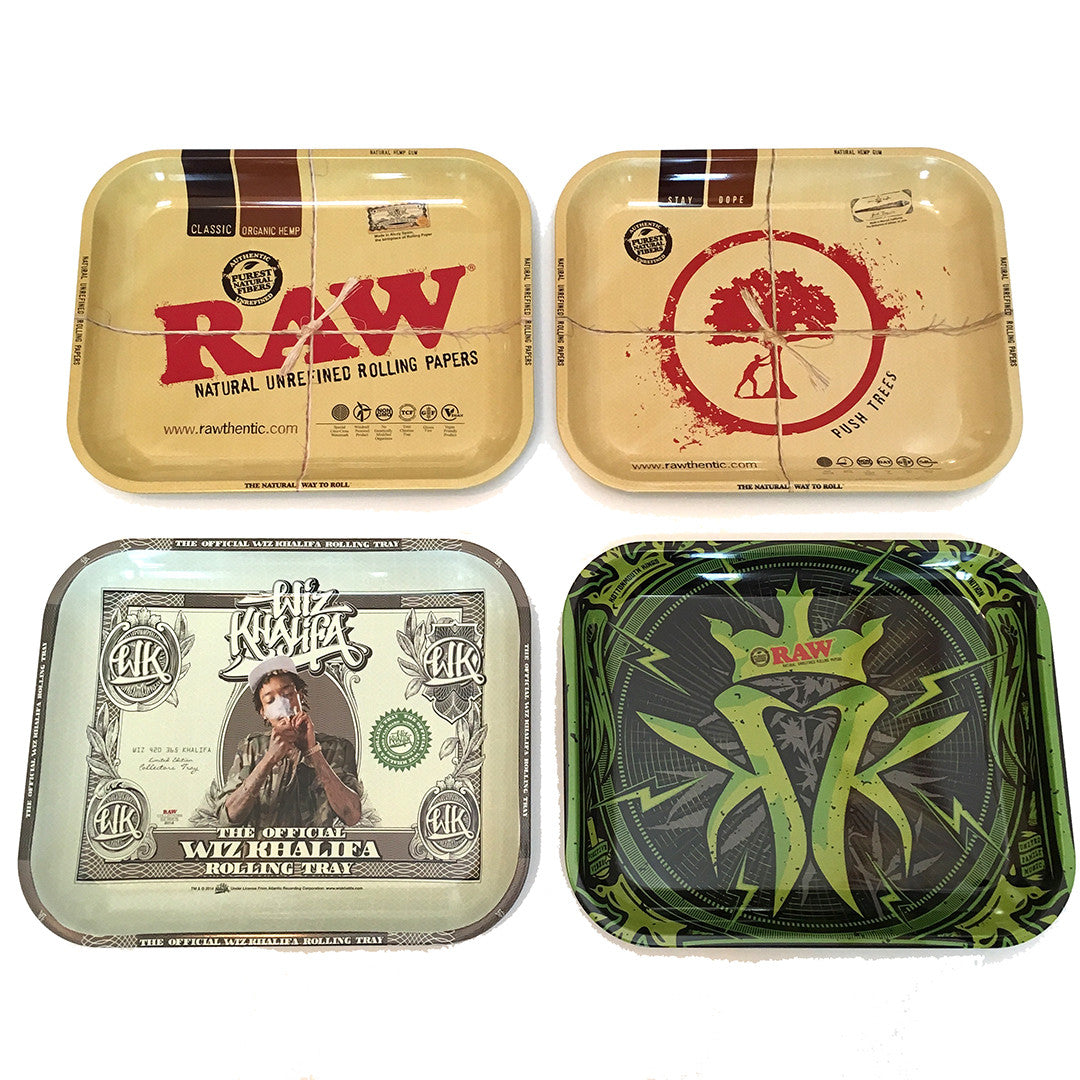 RAW Rolling Tray Push Tree