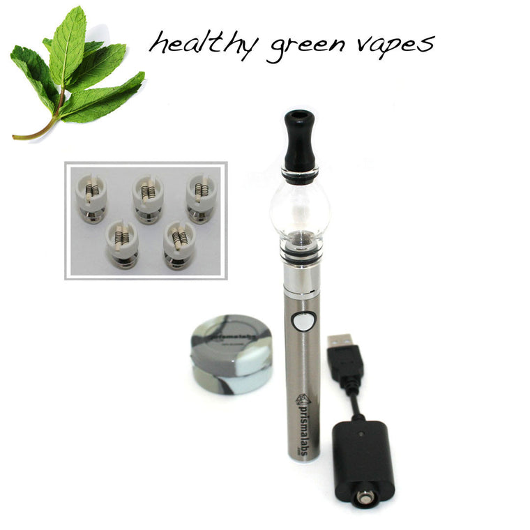 HGV Stratus Globe Pen with Dual Ceramic Rod Coil Vaporizer Set