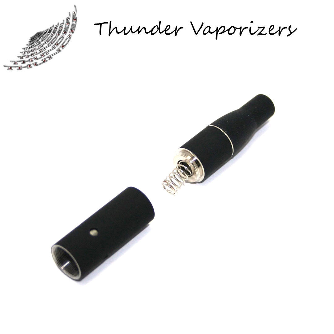 Thunder Vaporizer:  3 in 1 Replacement Heating Coils w/Mouthpiece (5pack-Black)