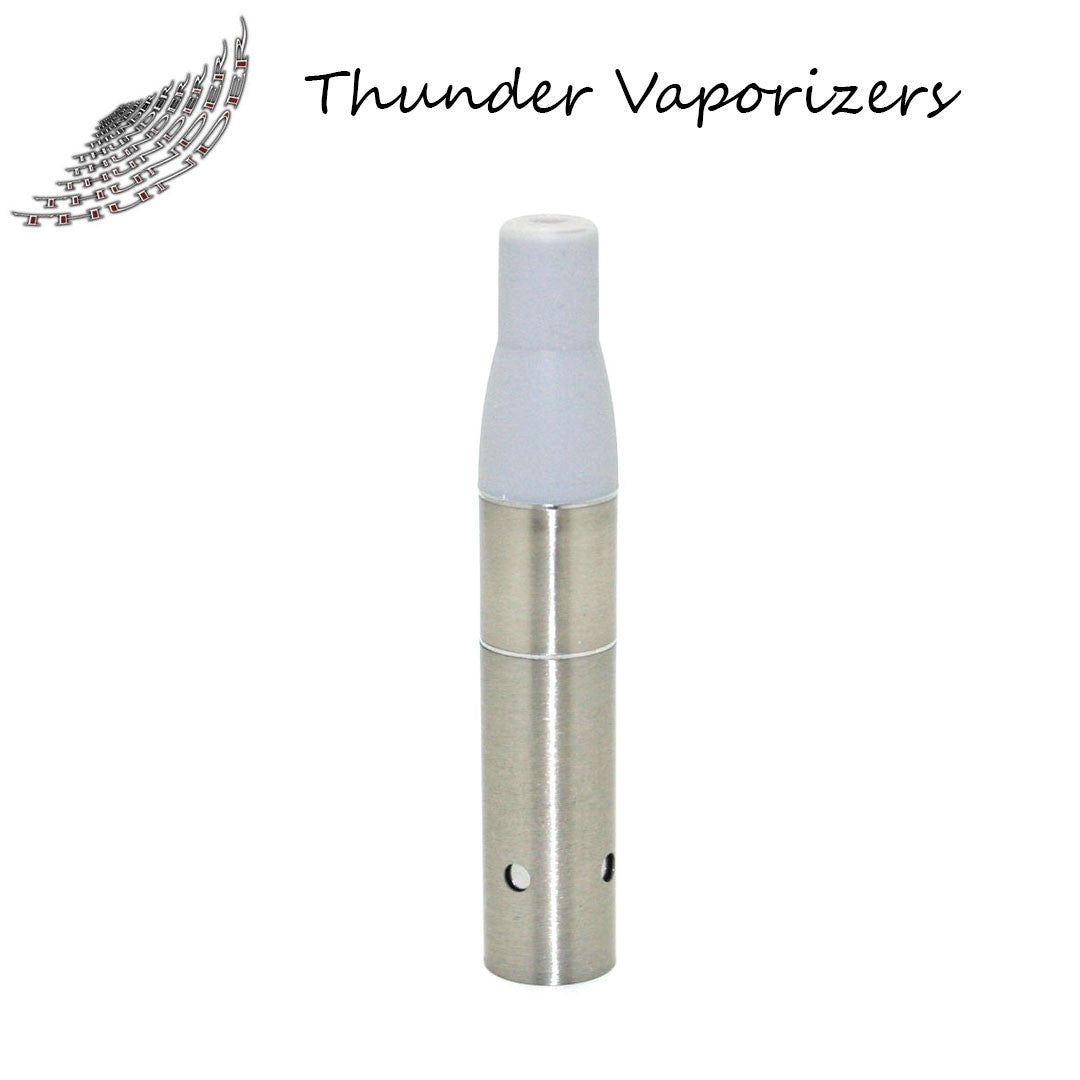 Thunder Vaporizer:  3 in 1 Replacement Heating Coils w/Mouthpiece (5pack-Stainless)