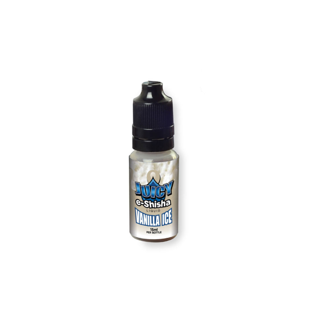 Juicy Jay's E-Juice Vanilla Ice 15ml  Bottle - No Nicotine