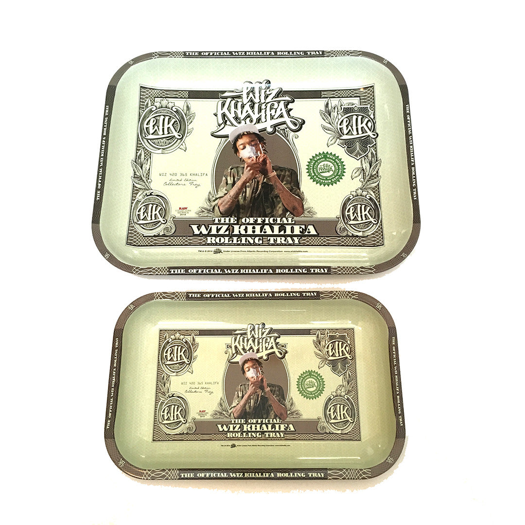 RAW Rolling Tray Wiz Khalifa Small