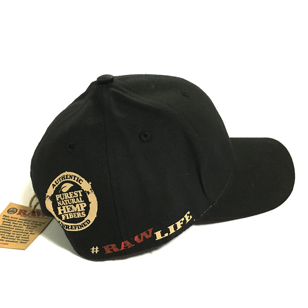 RAW HAT - Black Smoking Hat