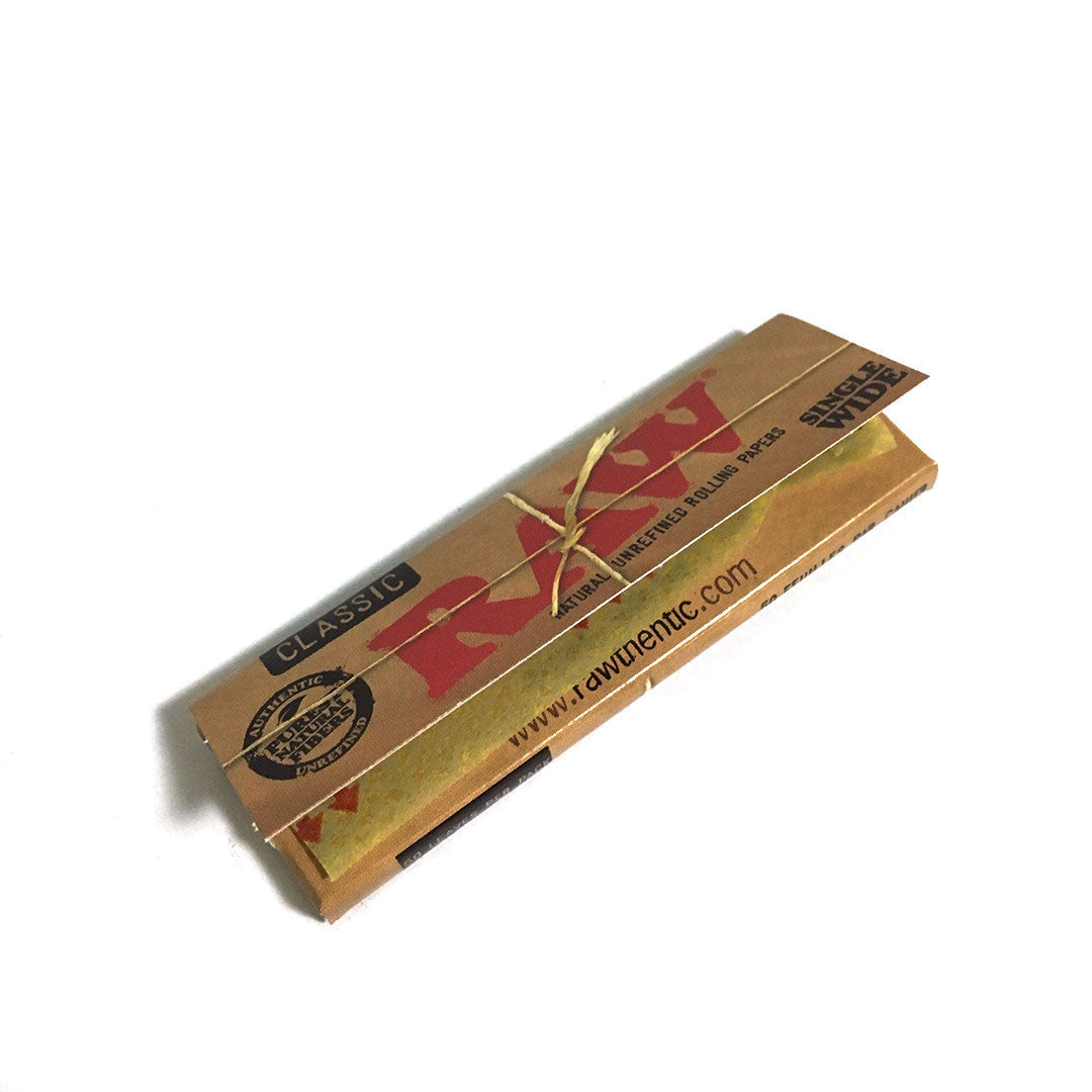 RAW Unrefined Hemp Single Wide - Single Pack