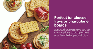 Charcuterie Board Cracker Packs - Valentine's Day
