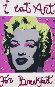 Warhol Art Marilyn