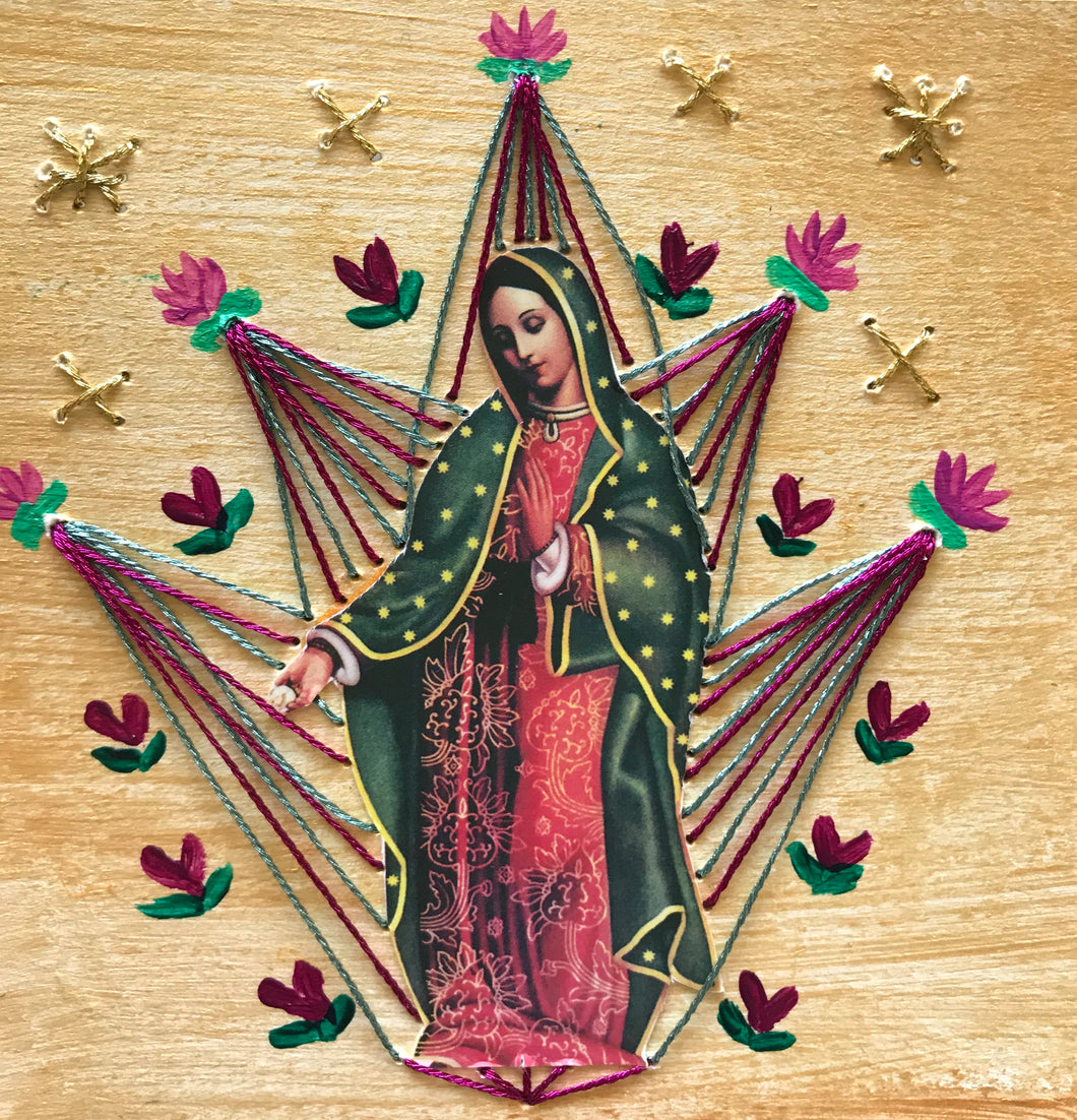 Virgencita Bordada Divina