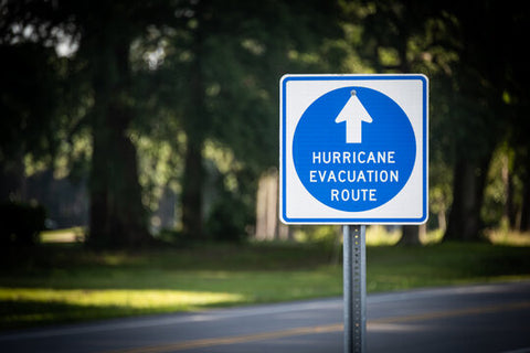 Evacuation Route for Hurricanes