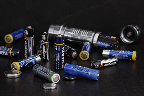 Flashlights and extra batteries