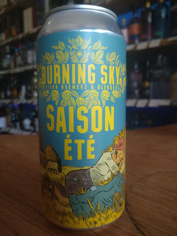 Burning Sky - Saison Ete