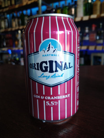 Hartwall Long Drink Cranberry