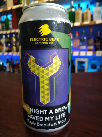 Electric Bear - Last Night A Brewer Saved My Life