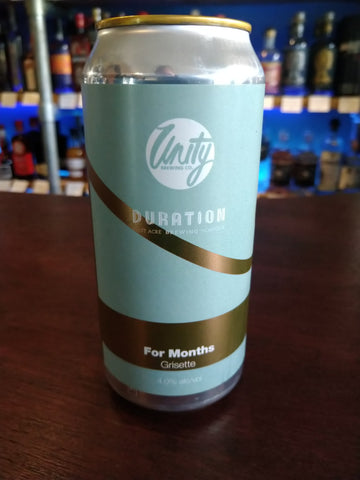 Unity Brewing Co. - For Months