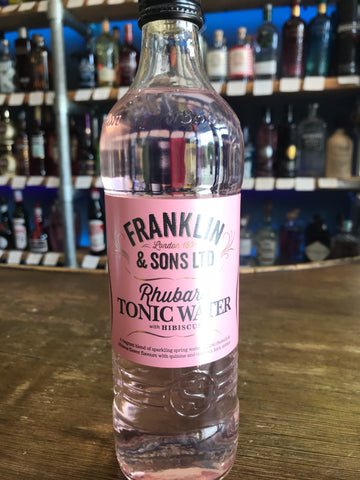 Franklin & Sons - Rhubarb Tonic Water With Hibiscus 500ML