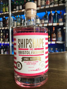 ShipShape and Bristol Fashion Rhubarb Gin