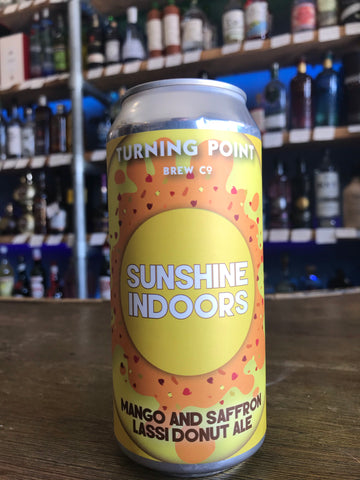 Turning Point - Sunshine Indoors Mango And Saffron Lassi Donut Pale