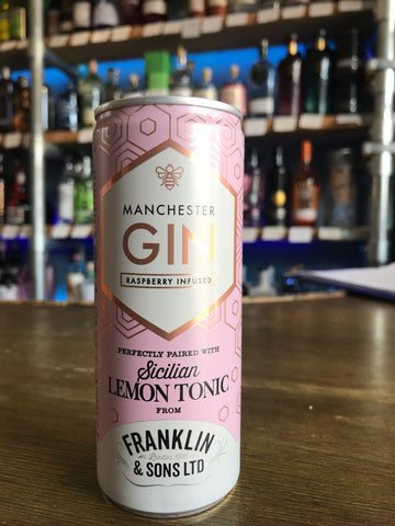 Manchester Gin and Sicilian Lemon Tonic
