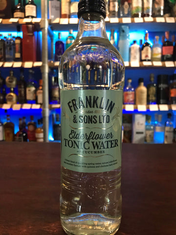 Franklin & Sons - Elderflower Tonic Water With Cucumber 500ml