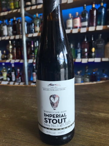 Bath Ales - Whisky cask aged imperial stout - islay no3