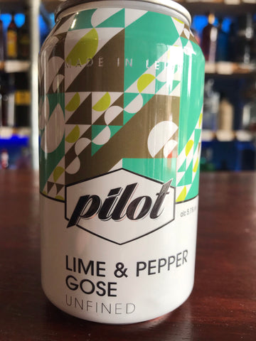 Pilot - Lime & Pepper Gose
