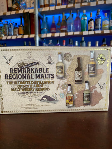 Douglas Laing's Remarkable Regional Malts 5x5cl Pack