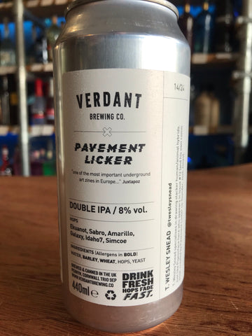 Verdent - Pavement Licker