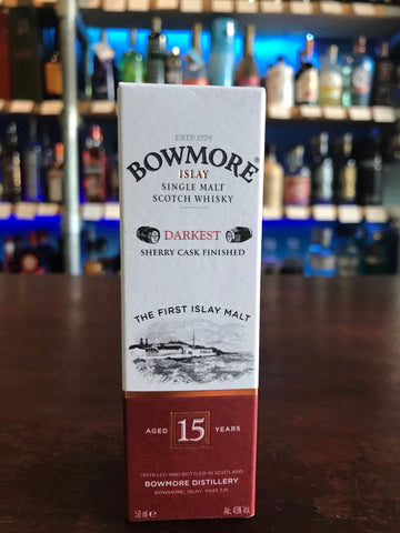 Bowmore 15 Darkest 5cl