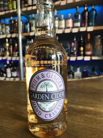Garden Cider - Plum and Ginger