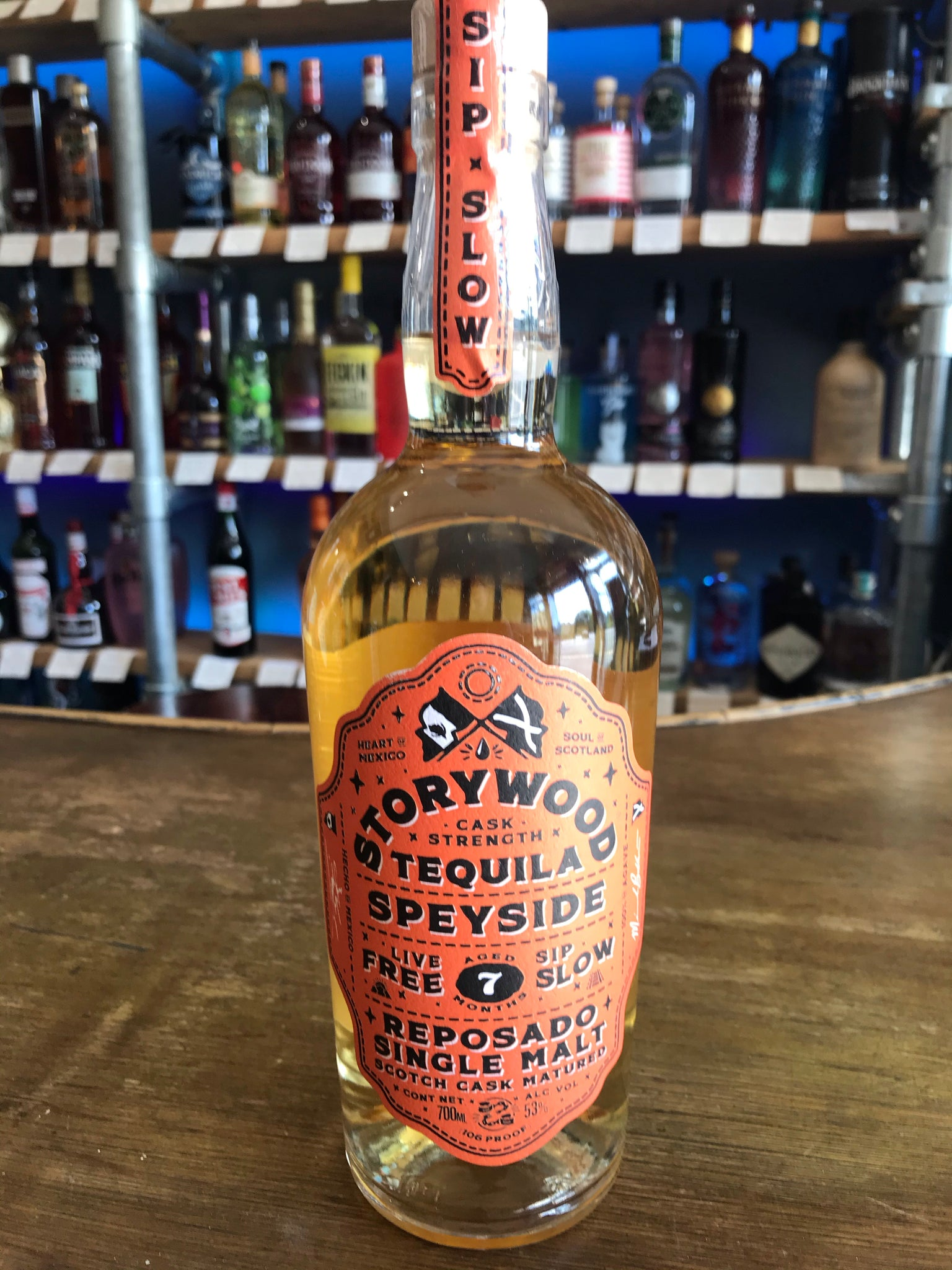 Storywood Tequila - Cask Strength Speyside Cask 7 Month Aged Reposado