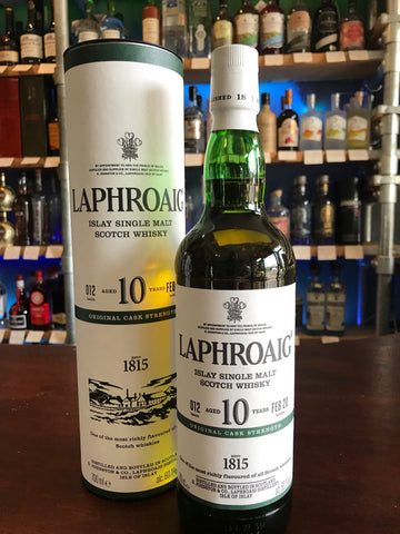 Laphroaig - 10 Year Old Cask Strength Batch 12