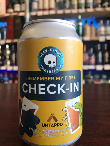 Beavertown - I Remember My First Check-In