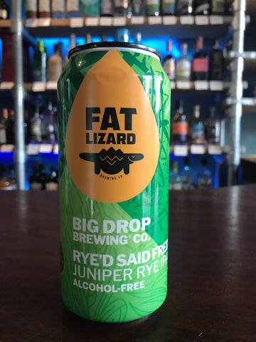 Big Drop / Fat Lizard - Rye'd Said Fred Juniper Rye IPA
