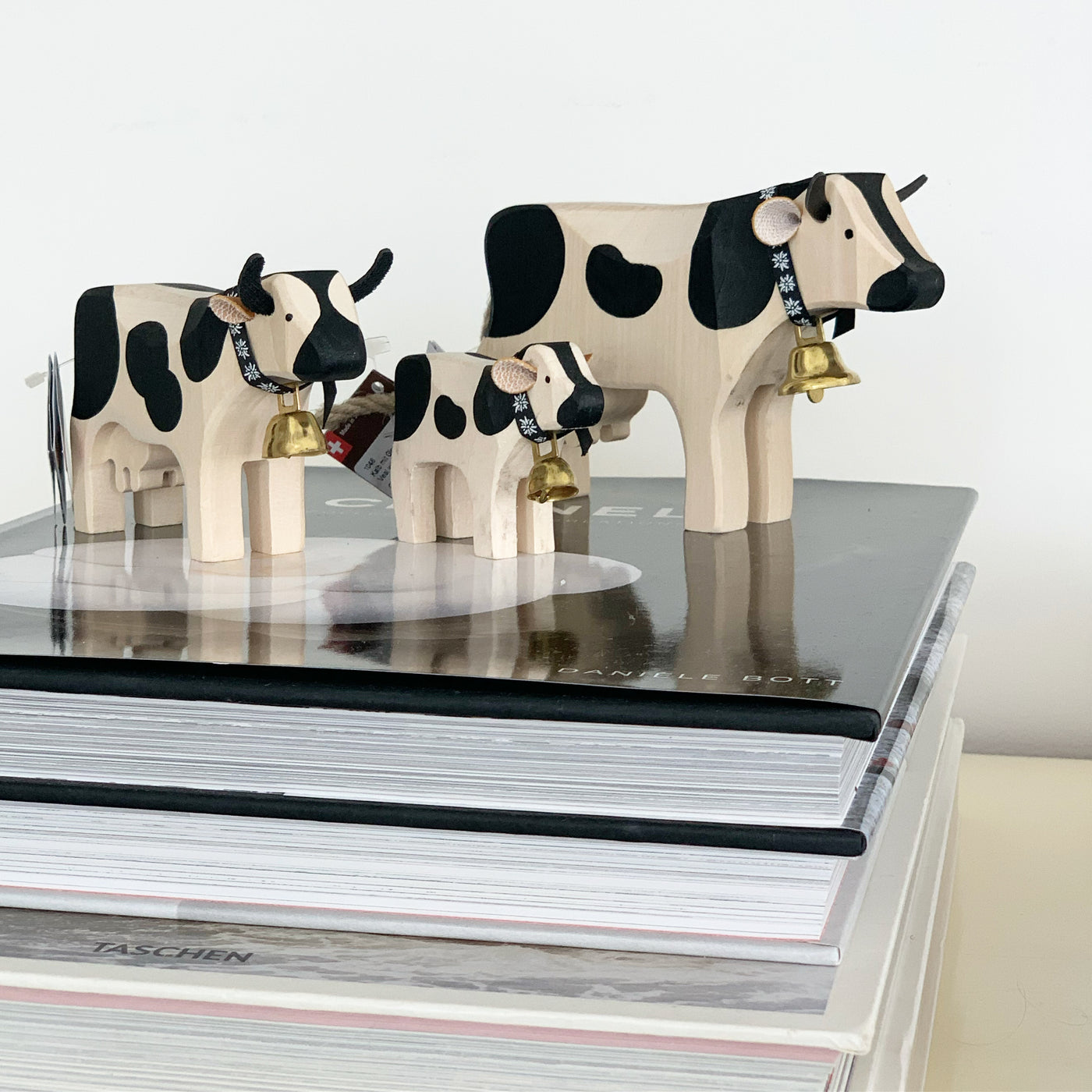 MOO-VING INTO THE YEAR OF THE OX WITH TRAUFFER'S SWISS COWS