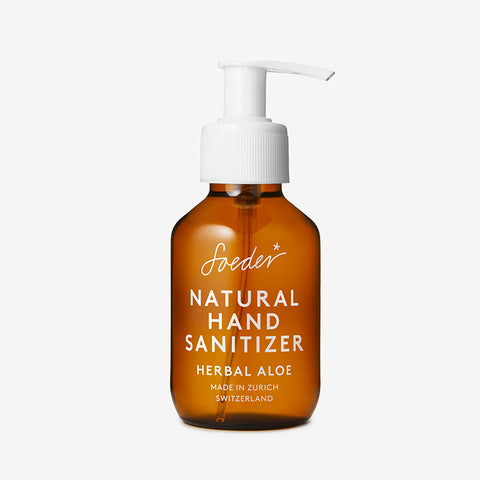 Natural Hand Sanitizer Herbal Aloe