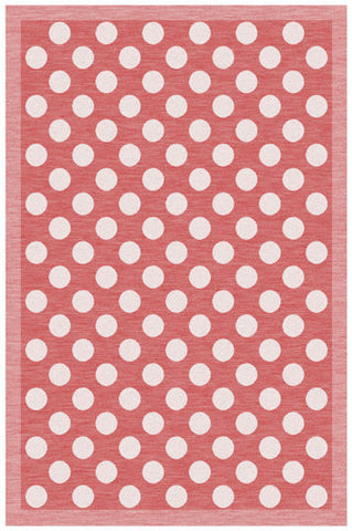 Kitchen Towel Dots Red